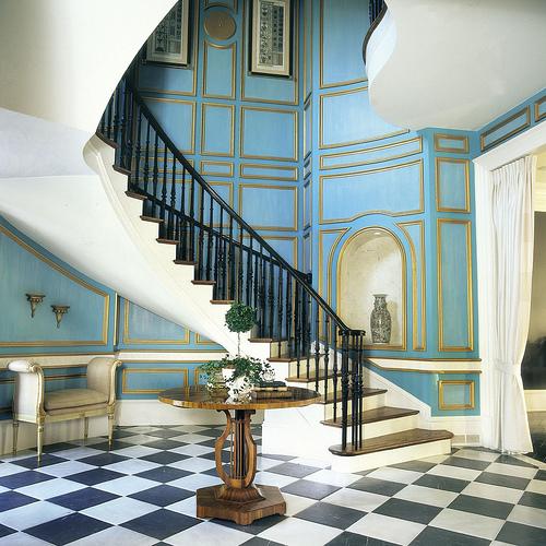 Elegant Mansion Foyers: Foyer Fabulosity Part I And A Stylish Blogger Award