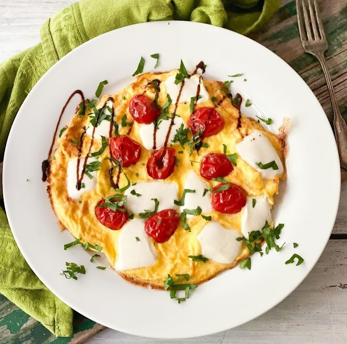 Caprese Omelette Recipe | Breakfast Care