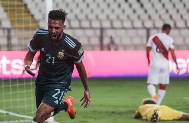Hasil Pertandingan Peru vs Argentina nicolas gonzales