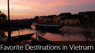 Top 5 Favorite Destinations in Vietnam