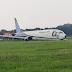 WATCH: Trigana Air Boeing 737-400 veers off runway in Indonesia