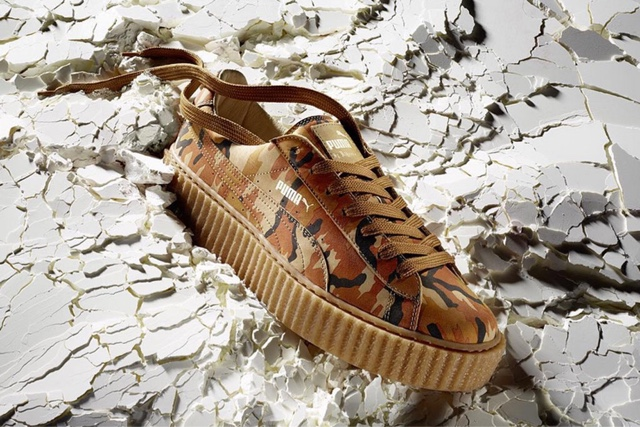 Shop for the Nu'Camo FENTY x PUMA Creeper