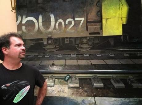 'Trayectos' de Xenxo por paisajes ferroviarios y estaciones