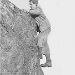 1961 John Butt on Caer Caradoc.jpg