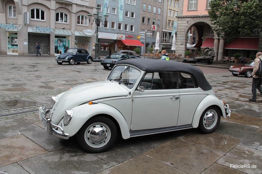 Startnummer 30 Käfer Cabrio 1500 1967