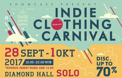 Event: INDIE CLOTHING CARNIVAL Di Diamond Hall Solo Tahun Ini