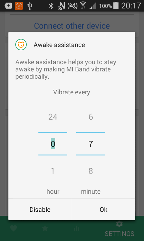 Mi Heart rate continuous monitoring - be fit Band- screenshot