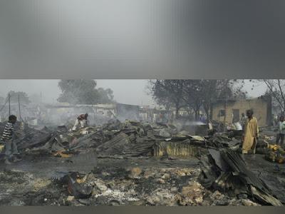 BREAKING: Nationwide Tears As Bokoharam Finally Captured Borno Town.