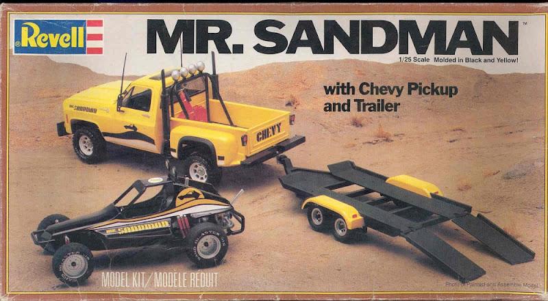 Image result for Revell Sandman set