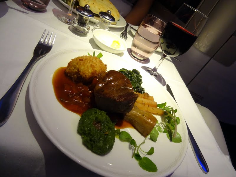 ... Salsify Bâtons, Tomato And Gherkin Jus. The Meat Was Still Juicy But  Close To Being Overcooked, Yet U2013 Just As The Whole Dinner U2013 Really Well  Flavoured
