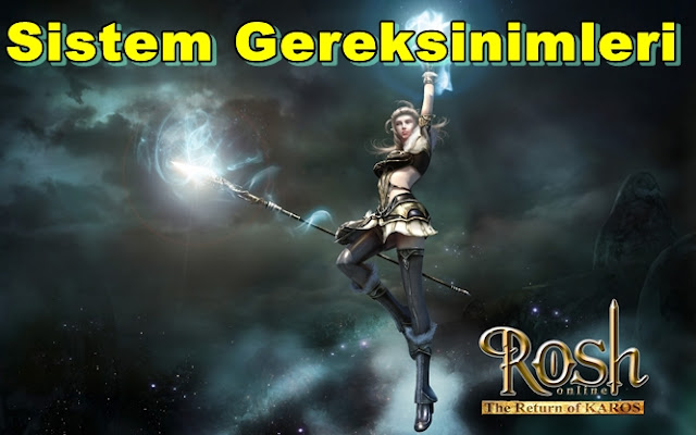 Rosh Online: The Return of Karos PC Sistem Gereksinimleri