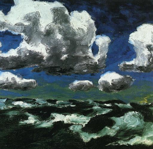 Nuages d'été (Sommerwolken) 1913 Huile sur toile 73 x 88,5 cm Museo Thyssen-Bornemisza, Madrid, Espagne
