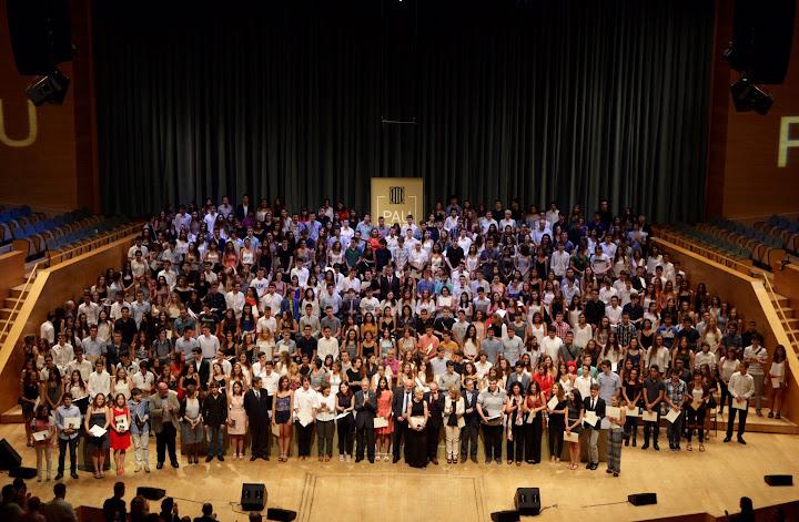 Distincions PAU 2016: 430 estudiants