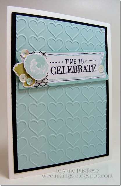 LeAnne Pugliese Celebrate Watercolor Wishes Card Kit Stampin Up Birthday