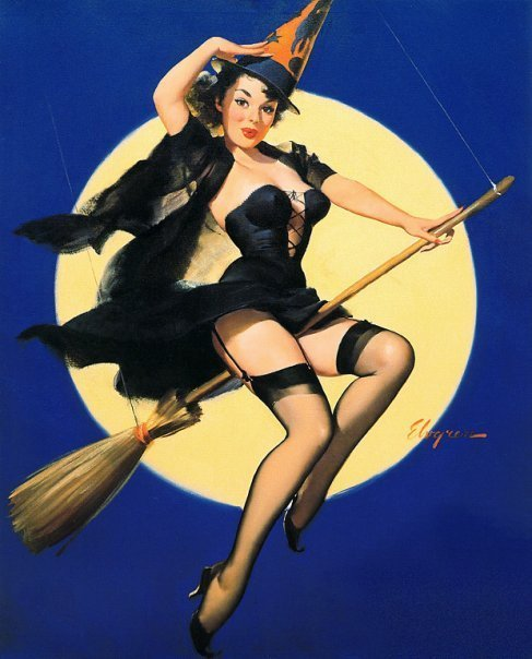 Broom Wiccan Moon, Moon Magic