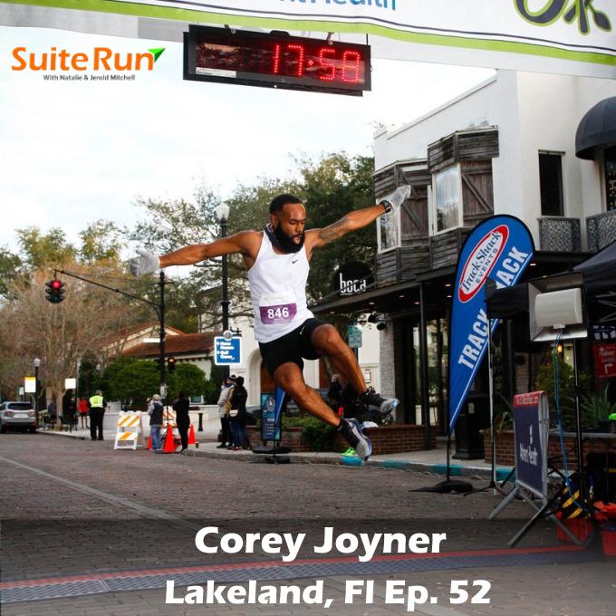 52    Lakeland, FL with Corey Joyner: Running in the Sunshine State