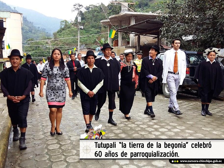 """TUTUPALI  """"LA TIERRA DE LA BEGONIA"""" CELEBRÓ 60 AÑOS DE PARROQUIALIZACIÓN"""