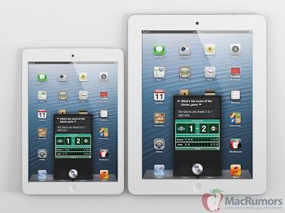 iPad miniとiPad 9.7インチの3Dイメージ:Mac Rumors