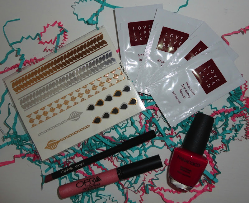 July 2015 Beauty Box Five 1