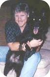 Dennis Neder With His Dog