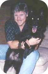 Dennis Neder With His Dog, Dr Dennis Neder