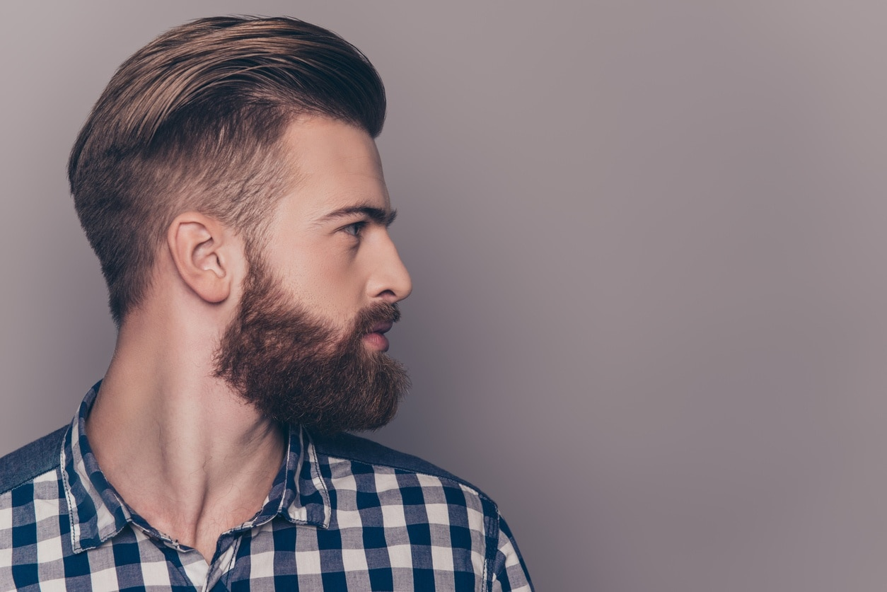 Top Slicked Back Undercut For Men -New Classic