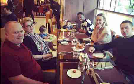 Mikel Is Being Belittled! Fans React After Olga Posts Throwback Family Photo