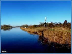 Photo: Landschap met molen. Foto: Kaatje Jansen
