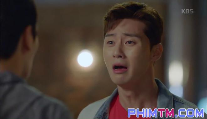Nổi cơn ghen, Park Seo Joon… áp mặt sát vào Kim Ji Won - Ảnh 18.