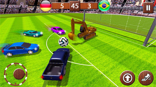 Car Rocketball Turbo Soccer League 1.0 screenshots 6