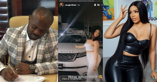 Meet the Married Man that sponsor Nengi's N40million range rover, mansion and lavish lifestyle [Photos]