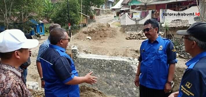Sempat Jadi Sorotan Publik Marwan Hamami Tinjau Pembangunan Jembatan