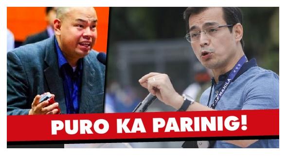 """""""Dilawan style ng patutsada!"""" Isko, Sinoplak ng Professor!"""