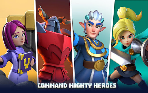 Wild Sky TD: Tower Defense Legends in Sky Kingdom screenshots 6