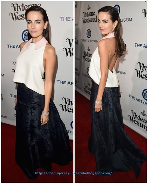 Camilla Belle attends The Art of Elysium 2016 HEAVEN Gala3