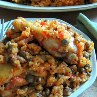 Puerto Rican Style Chicken & Rice