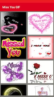 Download Miss You GIF for Windows Phone apk screenshot 1