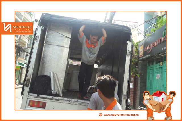 Dịch vụ dọn nhà bằng xe tải 1 tấn tại TPHCM