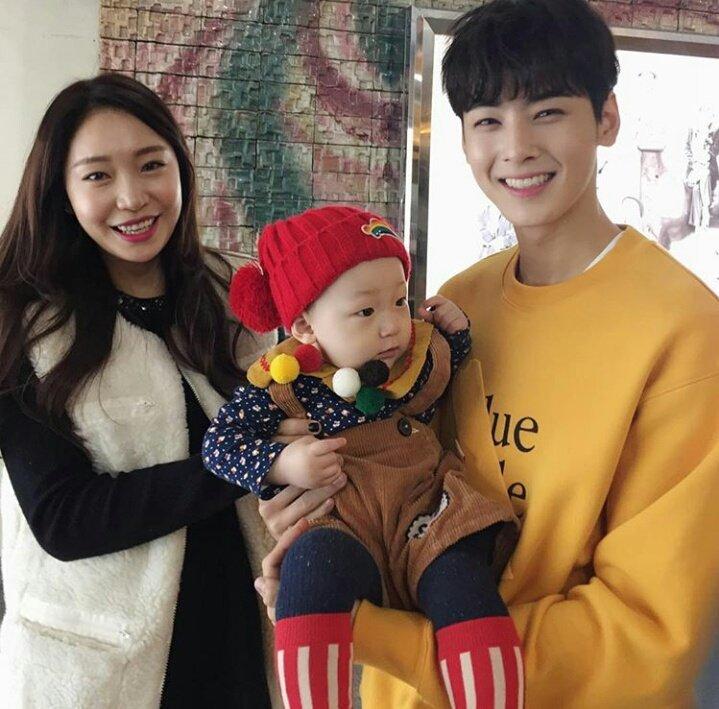 ASTRO Eunwoo and Kids