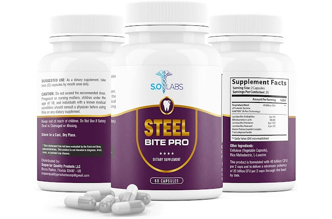 Steel Bite Pro Reviews : Does It Work? Negative Side Effects or Real Benefits? Know This First!