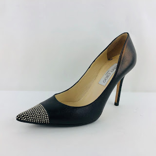 *SALE* Jimmy Choo Studded Toe Stilettos