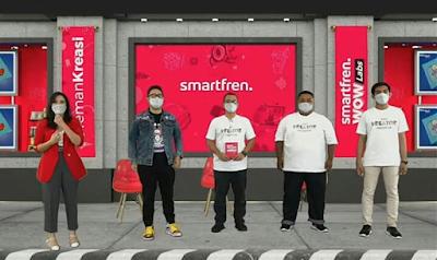 Peluncuran Teman Kreasi Indonesia Smartfren