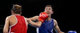 Rio 2016: Dernier espoir de l'Algérie pour une médaille en boxe, Flissi a été éliminé en 1/4 de finale