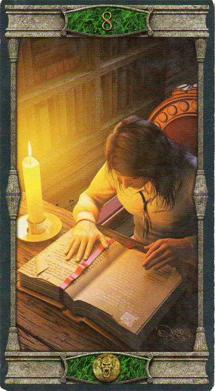The Pentacles Suit Tarot Cards Meanings In Readings: Corpse Cafe: MINOR ARCANA