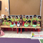 Popcorn Making Activity of Nursery Afternoon Section at Witty World, Chikoowadi (2017-18)