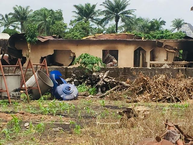 IN ANAMBRA: Properties Worth Millions of Naira Was Razed Down Over Communual Clash in Ayamelum
