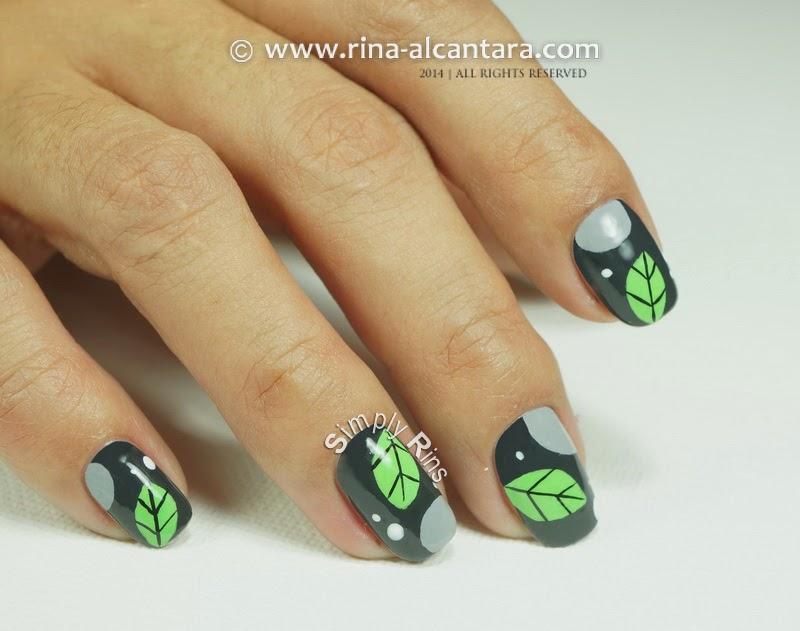 Nail Art: A Leaf Per Nail