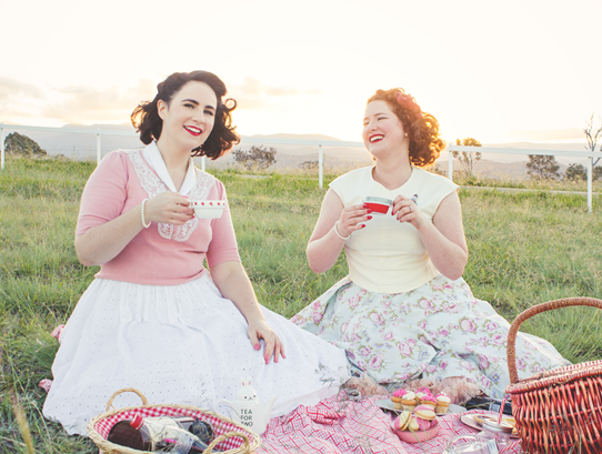 Candy Picnic 1950s Vintage Girls Style | Lavender & Twill