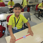Rakhi Making Activity (Grade I-III) 28-8-2015