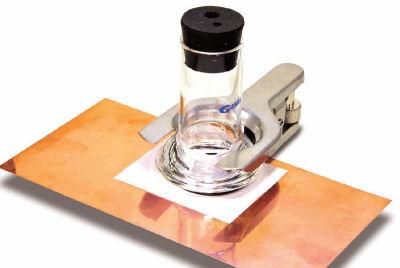 PTC1塗料テストセル